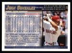 1998 Topps #30  Juan Gonzalez  Back Thumbnail
