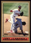 1998 Topps #58  Tony Fernandez  Front Thumbnail