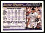 1998 Topps #87  Jamey Wright  Back Thumbnail