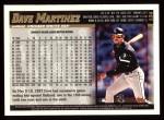 1998 Topps #134  Dave Martinez  Back Thumbnail