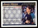 1998 Topps #217  Jamie Moyer  Back Thumbnail