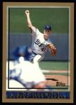 1998 Topps #244  Tim Belcher  Front Thumbnail