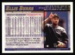 1998 Topps #310  Ellis Burks  Back Thumbnail