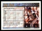 1998 Topps #446  Ken Hill  Back Thumbnail