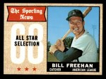 1968 Topps #375   -  Bill Freehan All-Star Front Thumbnail