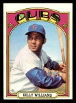1972 Topps #439  Billy Williams  Front Thumbnail