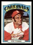 1972 Topps #500  Joe Torre  Front Thumbnail