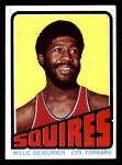 1972 Topps #232  Willie Sojourner   Front Thumbnail