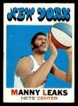1971 Topps #217  Manny Leaks  Front Thumbnail