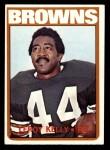 1972 Topps #70  Leroy Kelly  Front Thumbnail