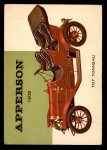 1954 Topps World on Wheels #148   Apperson Toy Tonneau 1909 Front Thumbnail