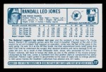 1977 Kellogg's #17  Randy Jones  Back Thumbnail