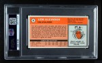 1970 Topps #75  Lew Alcindor  Back Thumbnail