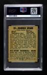 1948 Leaf #32  Warren Spahn  Back Thumbnail