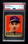 1948 Leaf #32  Warren Spahn  Front Thumbnail