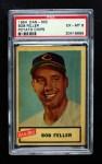 1954 Dan-Dee  Bob Feller  Front Thumbnail