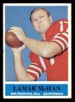 1964 Philadelphia #163  Lamar McHan  Front Thumbnail