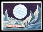 1958 Topps Target Moon #80   Exploring Jupiter  Front Thumbnail