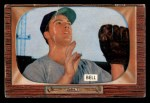 1955 Bowman #243  Gus Bell  Front Thumbnail