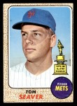 1968 Topps #45 A Tom Seaver  Front Thumbnail