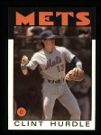 1986 Topps #438  Clint Hurdle  Front Thumbnail