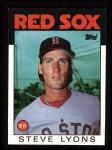1986 Topps #233  Steve Lyons  Front Thumbnail