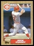 1987 Topps #13  Nick Esasky  Front Thumbnail