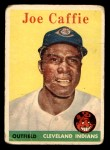 1958 Topps #182  Joe Caffie  Front Thumbnail