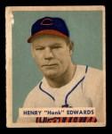 1949 Bowman #136  Hank Edwards  Front Thumbnail