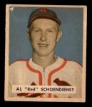 1949 Bowman #111  Red Schoendienst  Front Thumbnail
