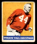 1948 Leaf #21  Paul Christman  Front Thumbnail