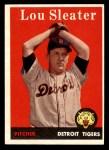 1958 Topps #46 WN Lou Sleater  Front Thumbnail