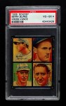 1935 Goudey 4-in-1  Charley Berry / Robert Burke / Red Kress / Dazzy Vance  Front Thumbnail