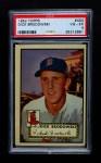 1952 Topps #404  Dick Brodowski  Front Thumbnail