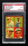 1935 Goudey 4-in-1  Frankie Frisch / Dizzy Dean / Ernie Orsatti / Tex Carleton  Front Thumbnail