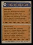 1974 Topps #132   -  Gilles Gilbert All-Star Back Thumbnail