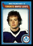 1979 Topps #197  Mike Palmateer  Front Thumbnail