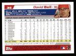 2004 Topps #35  David Bell  Back Thumbnail