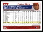 2004 Topps #68  Carlos Silva  Back Thumbnail