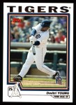 2004 Topps #129  Dmitri Young  Front Thumbnail