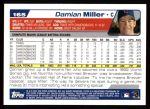 2004 Topps #165  Damian Miller  Back Thumbnail