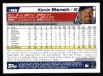 2004 Topps #188  Kevin Mench  Back Thumbnail
