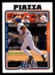 2005 Topps #450  Mike Piazza  Front Thumbnail
