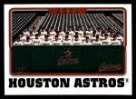 2005 Topps #650   Houston Astros Team Front Thumbnail