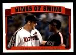 2005 Topps #694   -  Miguel Tejada / Lance Berkman Kings of Swing Front Thumbnail