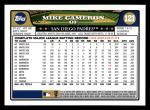2008 Topps #121  Mike Cameron  Back Thumbnail