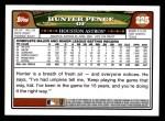 2008 Topps #225  Hunter Pence  Back Thumbnail