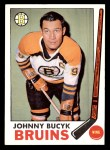 1969 Topps #26  Johnny Bucyk  Front Thumbnail