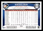 2011 Topps Update #145  Bartolo Colon  Back Thumbnail