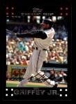 2007 Topps #450  Ken Griffey Jr.  Front Thumbnail